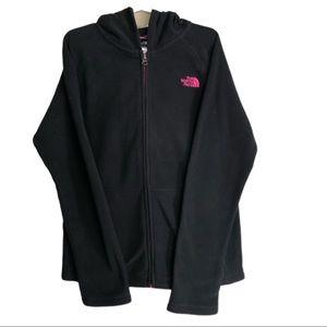 The North Face Girls Zip Fleece Sweatshirt 14/16